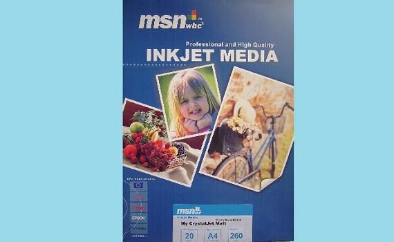 Sell paper msnwbc inkjet matt photo :)